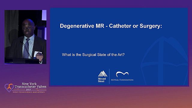 TMVR Technologies vs. Surgical Therapies for Mitral Regurgitation